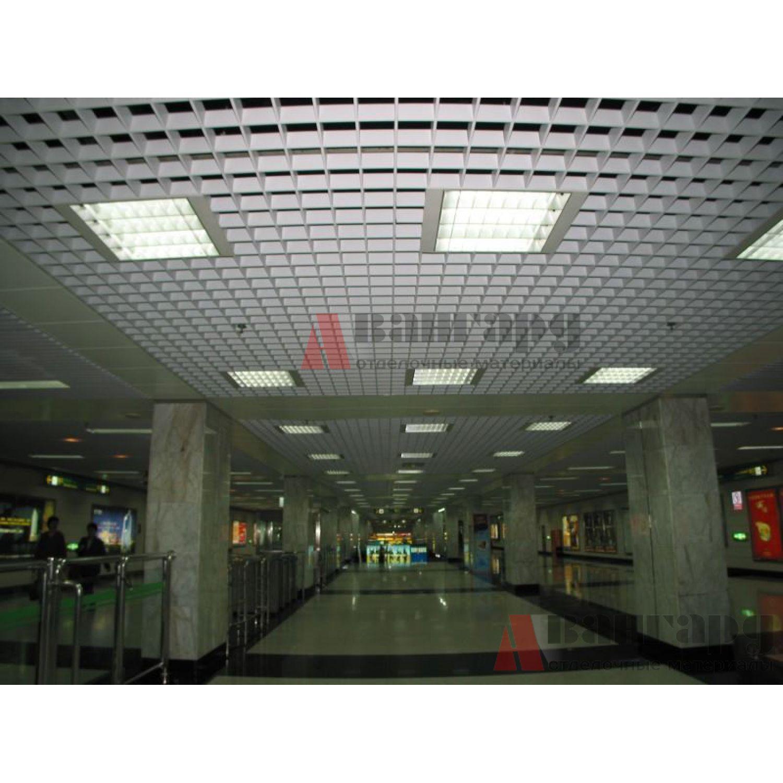 Грильято потолок 100х100 «GL-24»