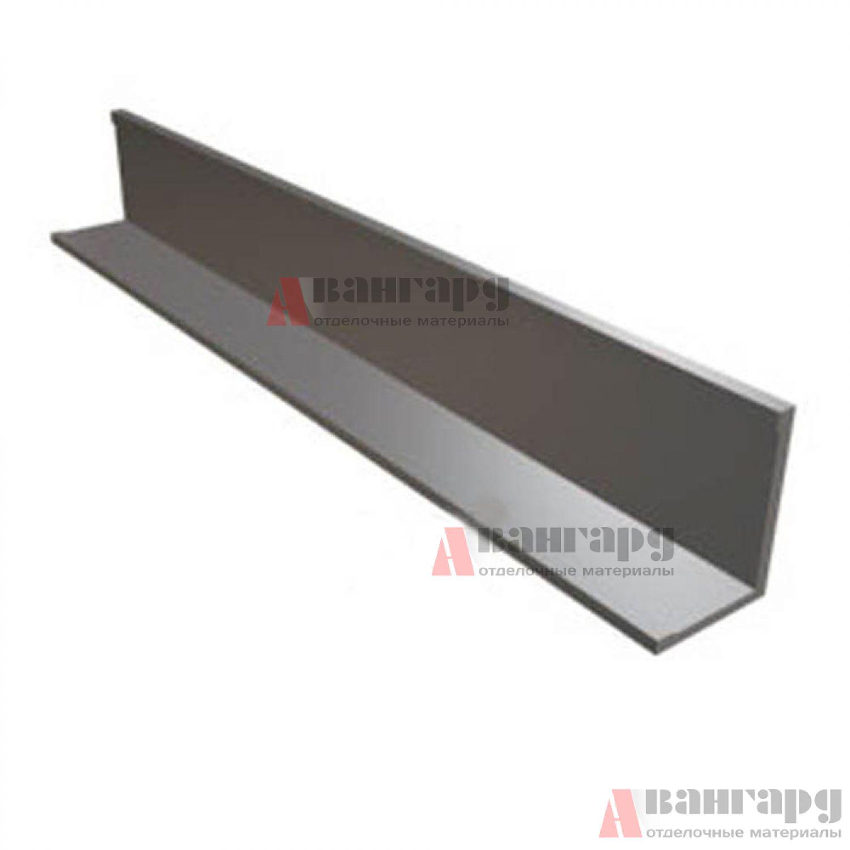 Угол пристенный алюминиевый 19*24*3000 мм (металлик матовый)